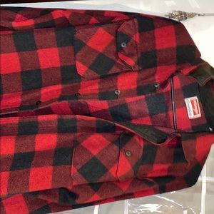 Wrangler Red and Black flannel